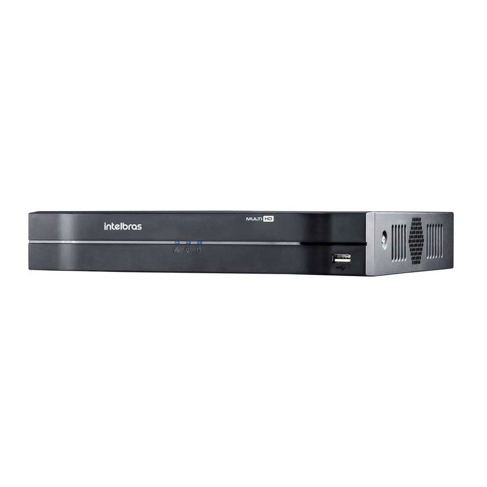Dvr Nvr 4 Canais Intelbras 1080n Mhdx 1104 Com Hd 1 Tb Wd Purple
