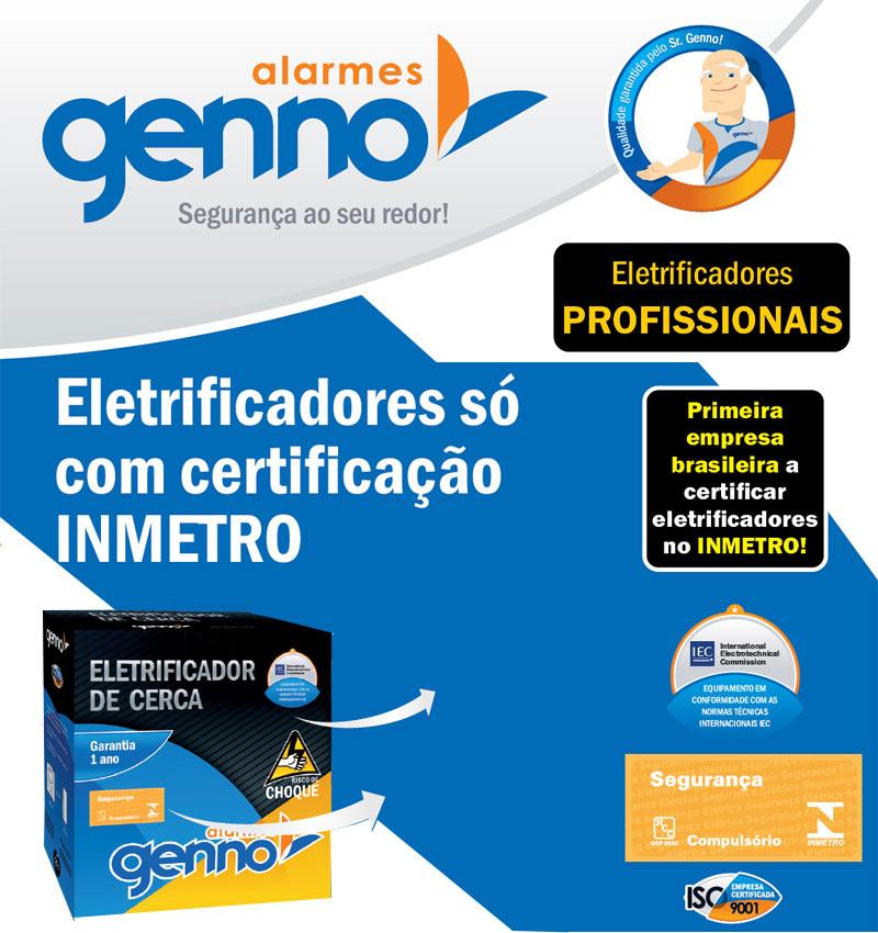 ELETRIFICADOR DE CERCA ELETRICA IMPACTO GENNO