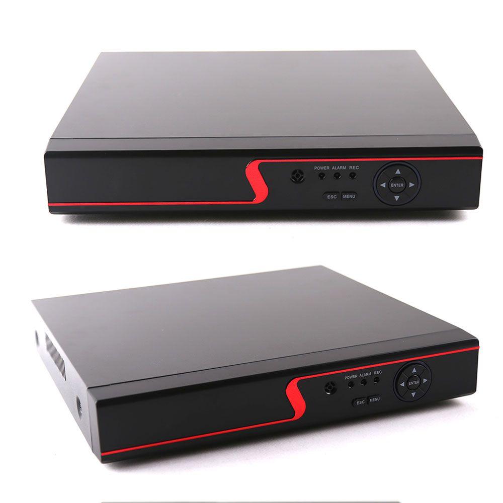 Gravador Dvr de 8 Canais 5em1 1080n Com HD de 500g