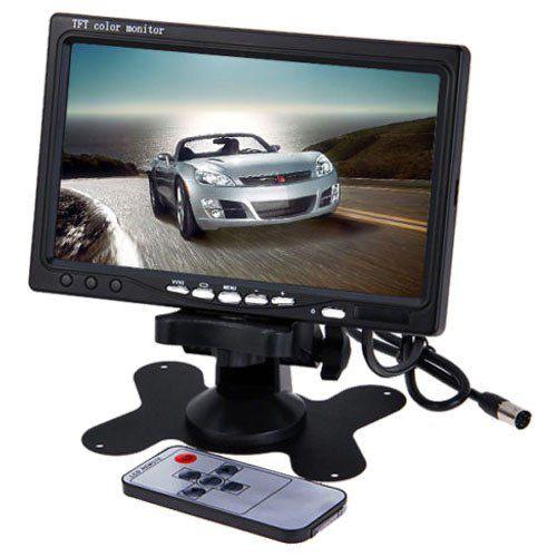 Kit 1 Camera de Segurança Hd Com Monitor e Dvr para 4 Canais