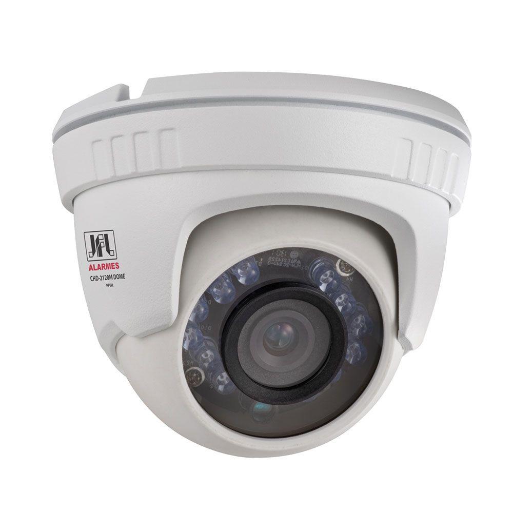 Kit 2 Cameras Dome Metal Full Hd 1080p Jfl Chd 2120m
