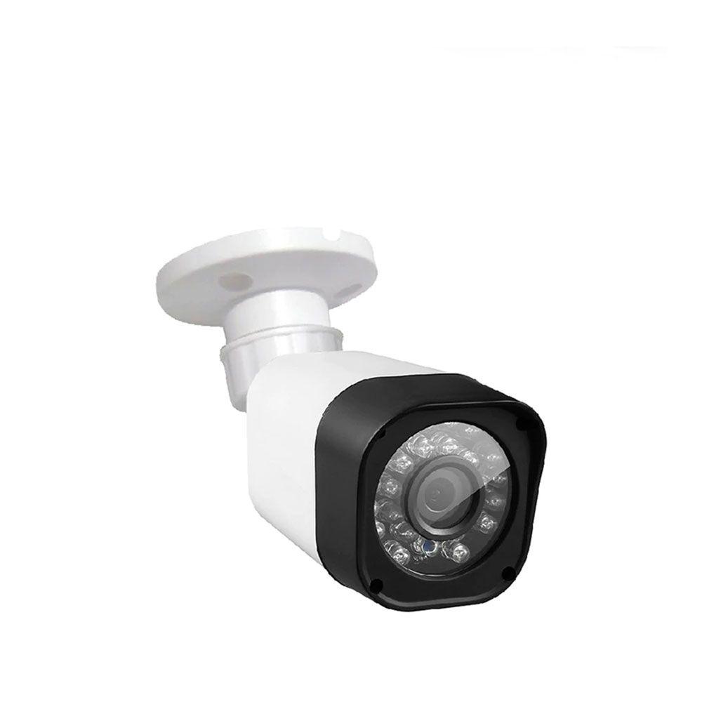 Kit 2 Cameras Hibridas HD Cvi Tvi Ahd e Analogica 1080p Com Cabo e Fonte