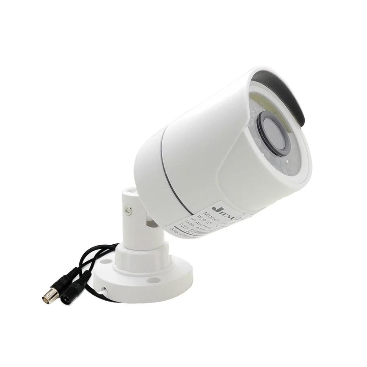 Kit 3 Cameras De Segurança Infra Ahd 720p Com 50mts Cabo E Fonte
