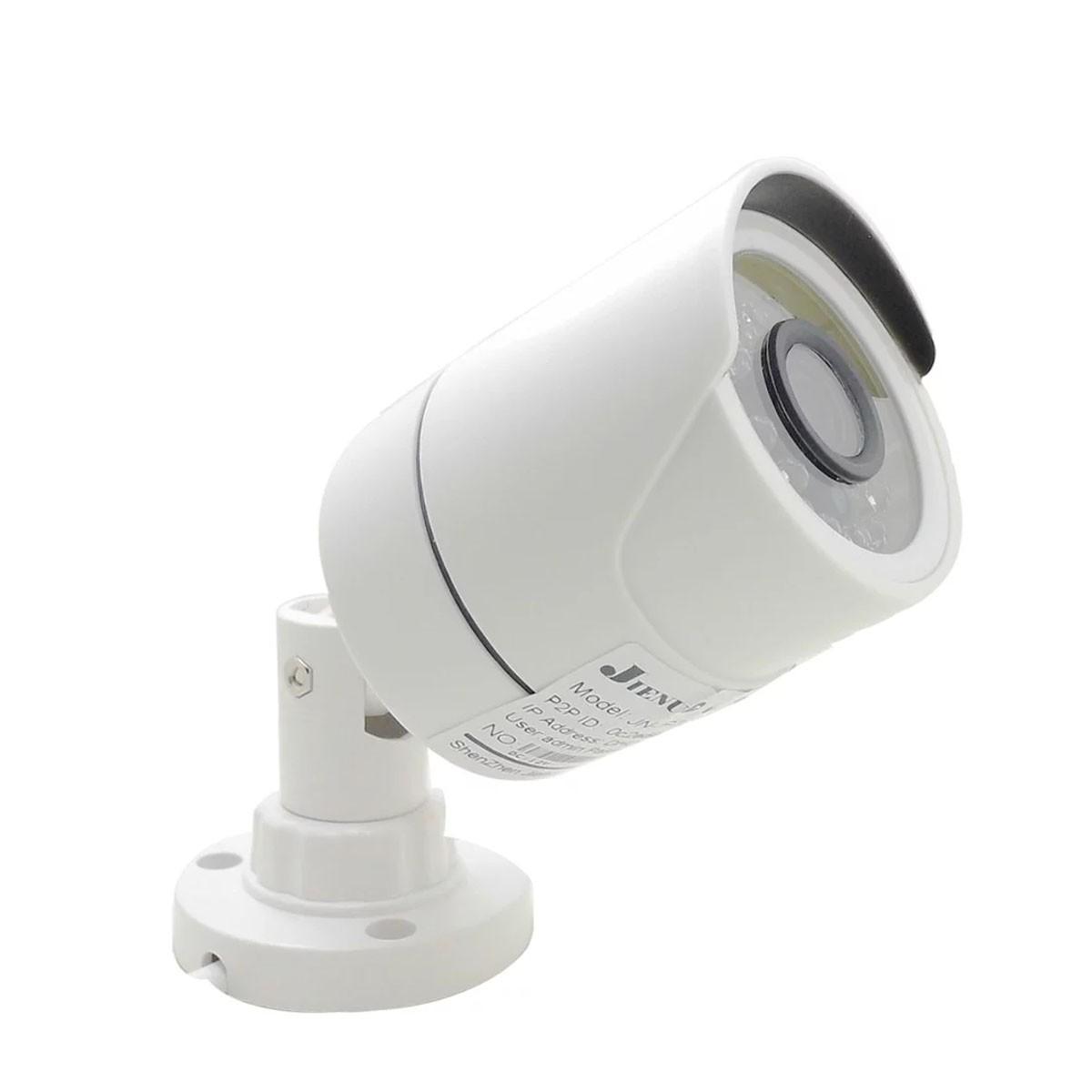 Kit 3 Cameras Infra Hd Com Dvr 8 Canais Acesso App Xmeye