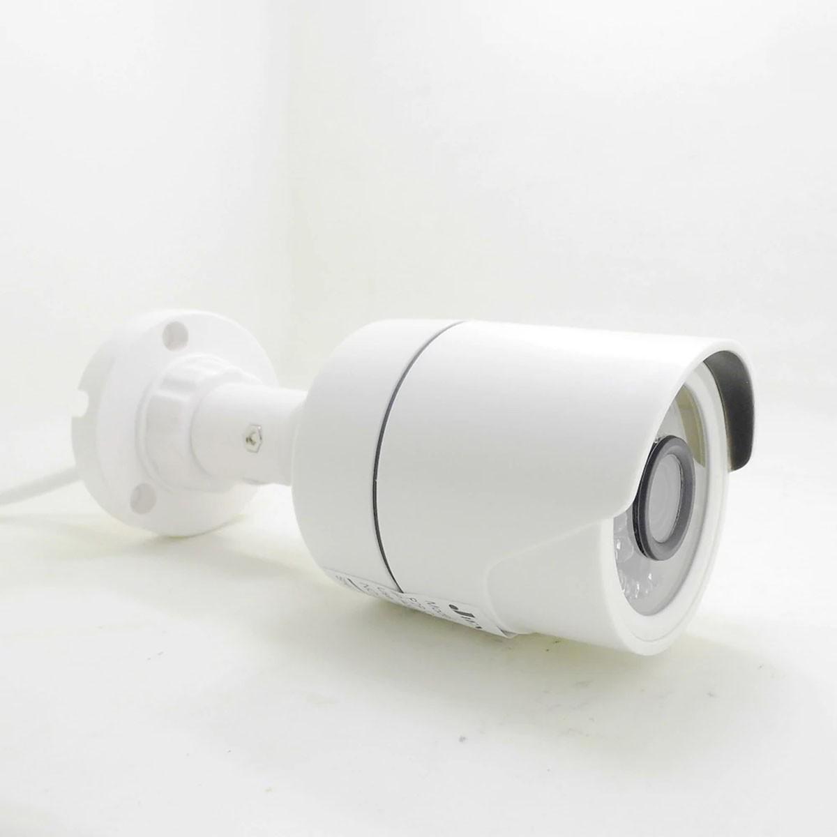 Kit 4 Cameras De Segurança Infra Ahd 1.3mp Com Cabo E Fonte
