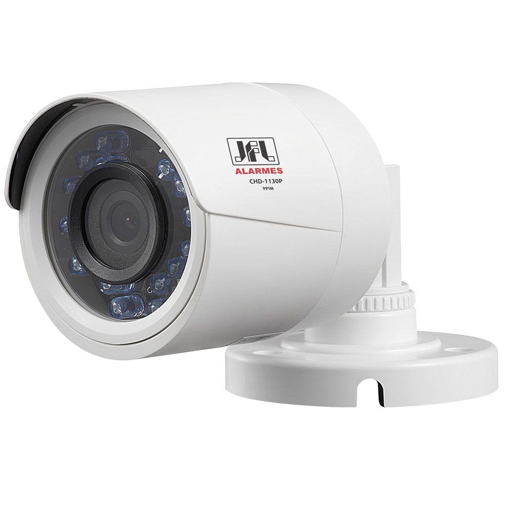 Kit 4 Câmeras De Segurança Jfl Hd 720p 30mts Chd 1230p Completo