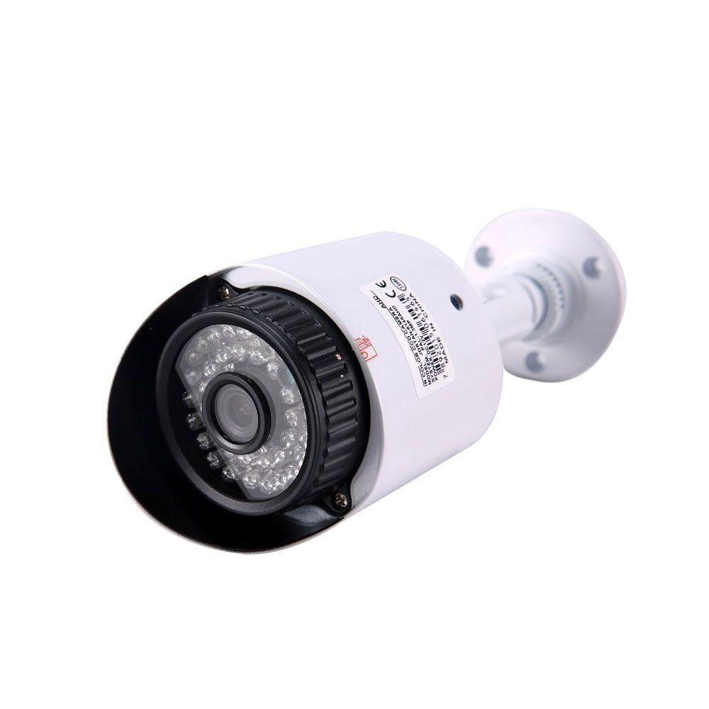 Kit 4 Cameras HD 960p Com Dvr de 8 Canais 1080n 2 Cabos