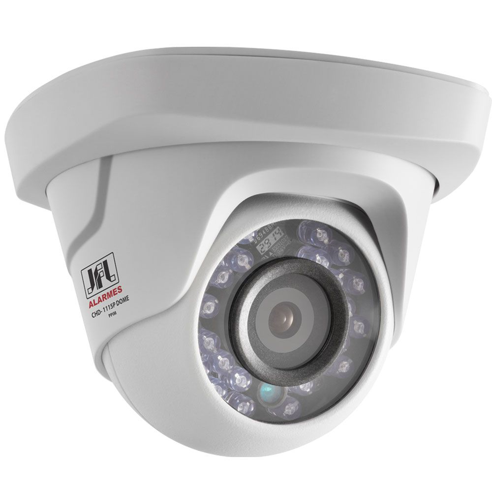 Kit 5 Cameras Bullet Chd 1230p e 4 Camera Dome 1215p Jfl