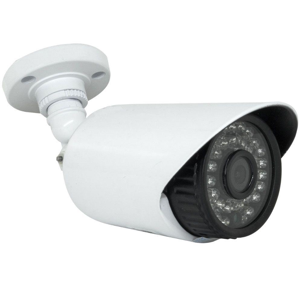 Kit 5 Cameras Infra Hd 30Mts Com Dvr 8 Canais P2p Nuvem