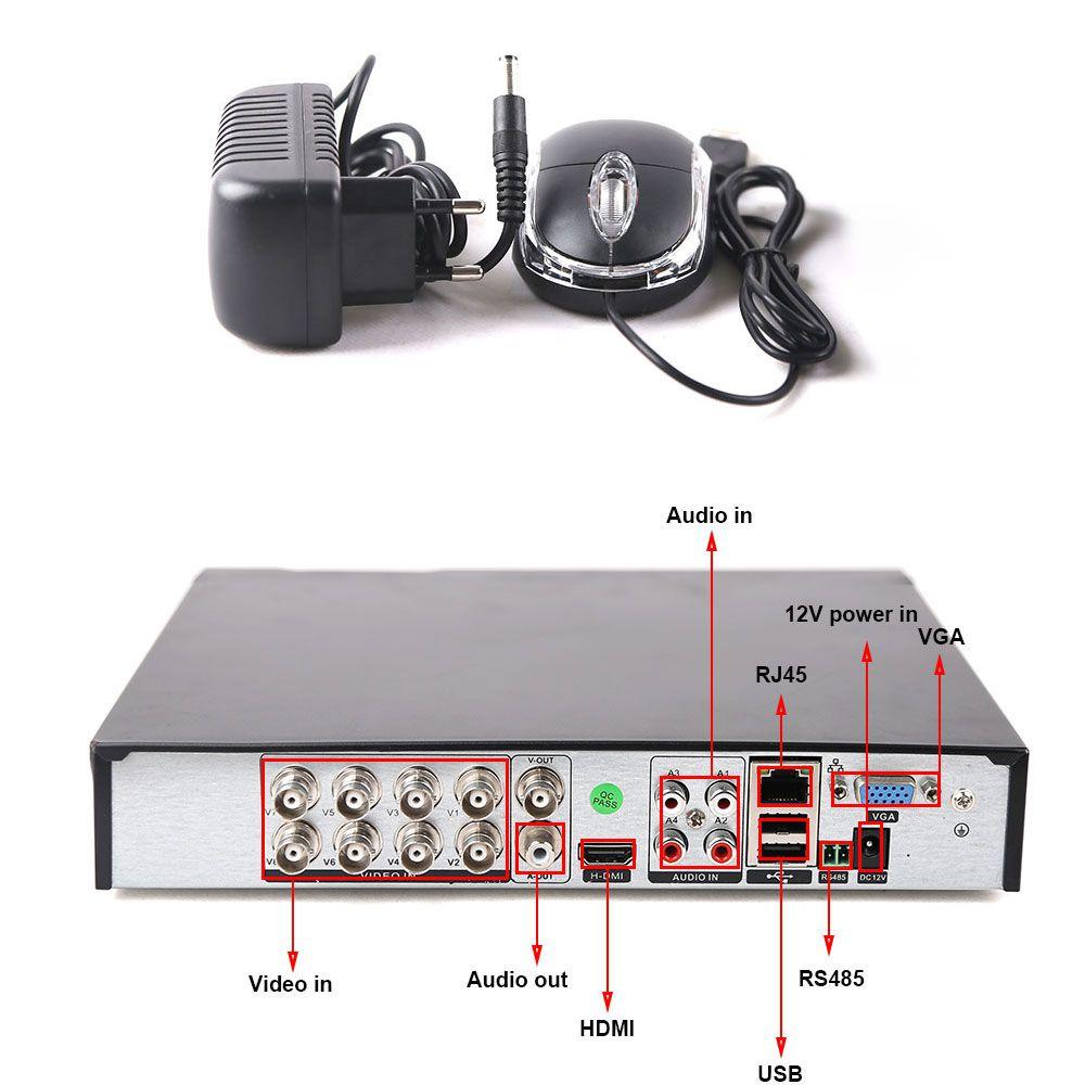 Kit 5 Cameras Infravermelho Full Hd 1080p Acesso Celular