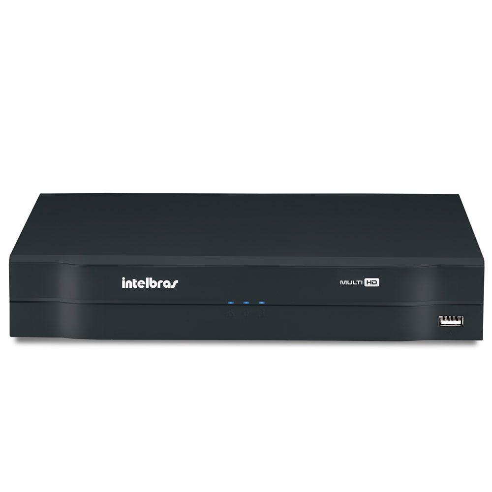 Kit 5 Cameras Intelbras Full Hd 1080p 2mp Vhd 1220b Dvr 8ch Mhdx 1008  Completo