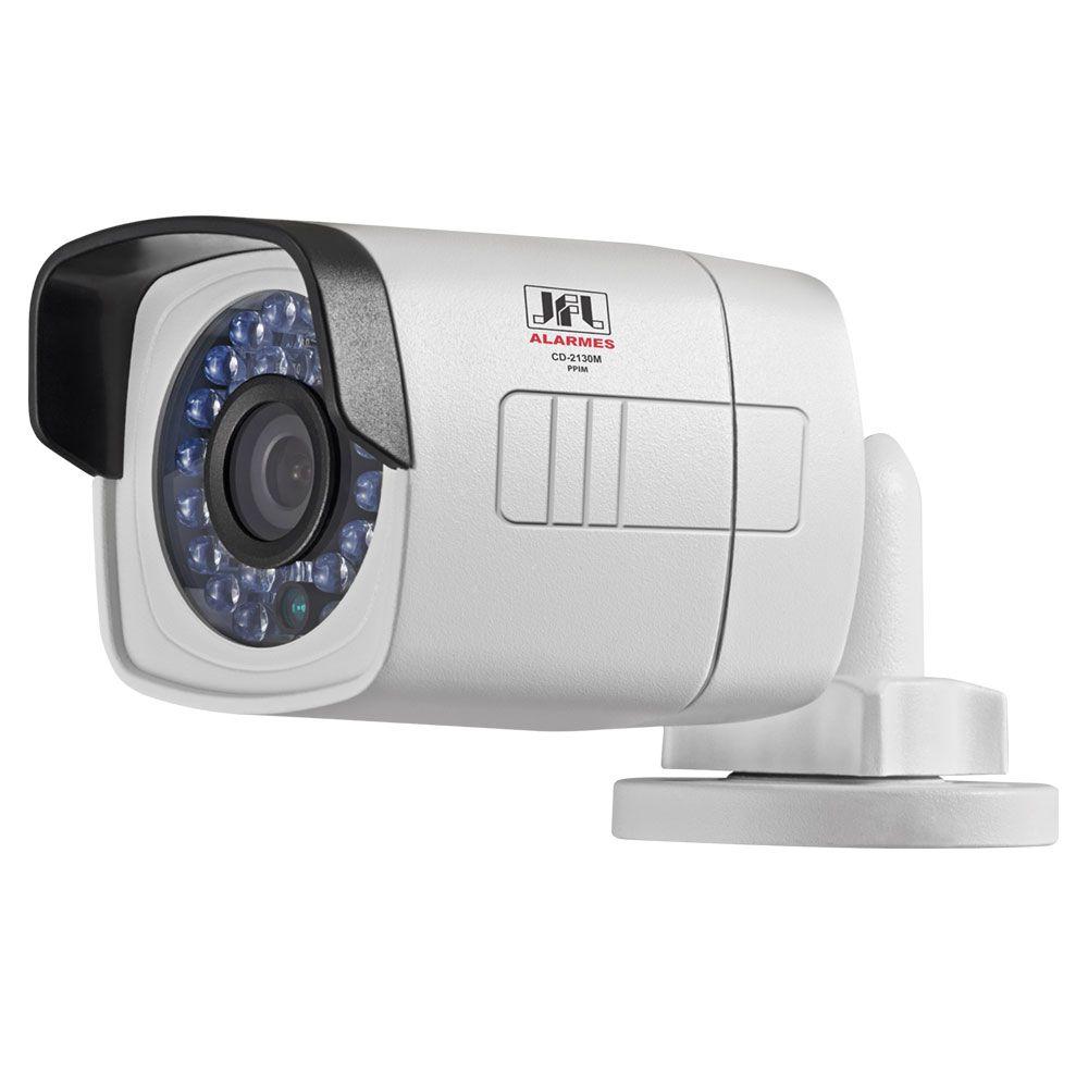 Kit 8 Cameras Full Hd 1080p Bullet Externa Metal 30mts Chd 2130m Jfl