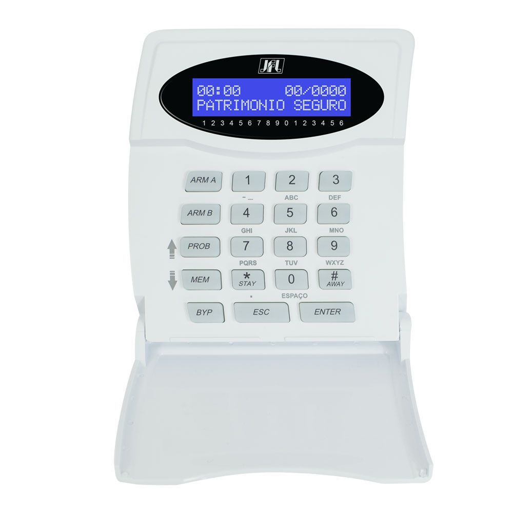 Kit Alarme Active 32 Duo Com Sensores Dse 830 Jfl