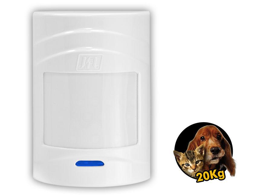 Kit Alarme Active 32 Duo Jfl Com Sensor Sem Fio Ir 520 Duo