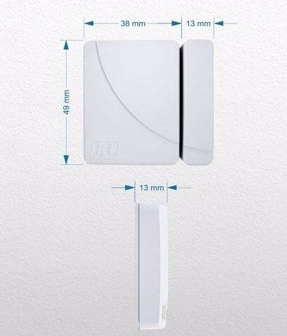 Kit Alarme Brisa Cell 804 Jfl 2 Sensor Sem Fio Shc Fit