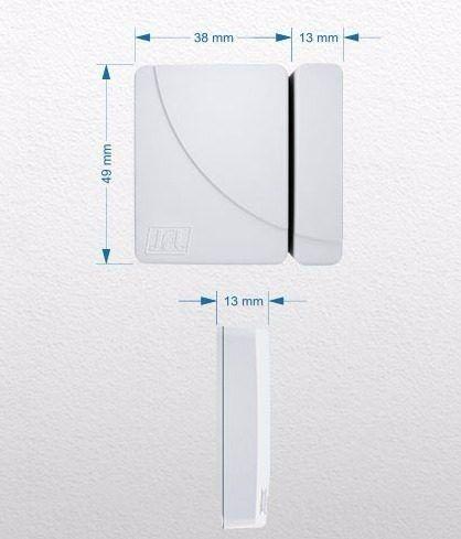 Kit Alarme Brisa Cell 804 Jfl 5 Sensor Sem Fio Shc Fit