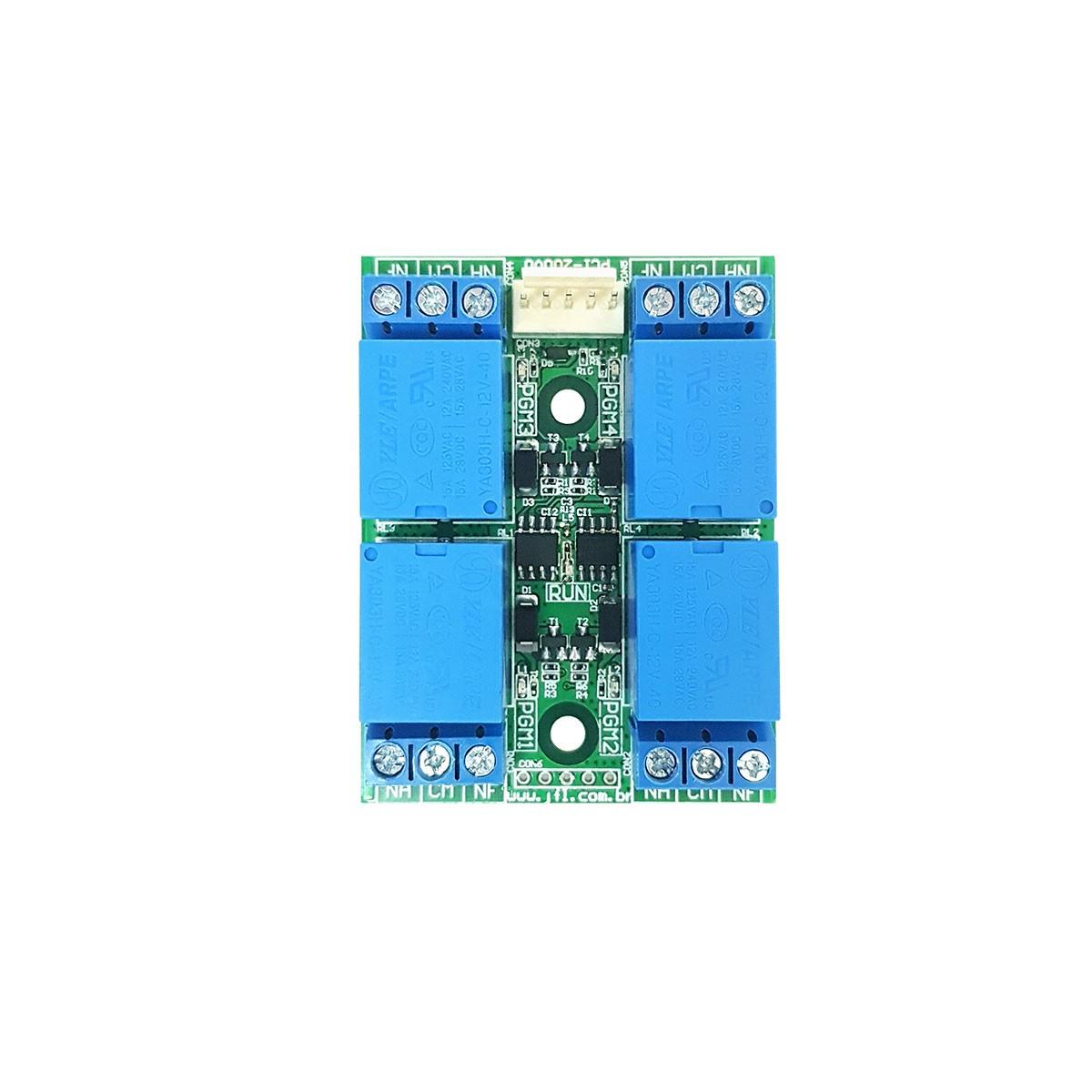 Kit Alarme Jfl Smartcloud 18 Com Modulo Ethernet E Sensores