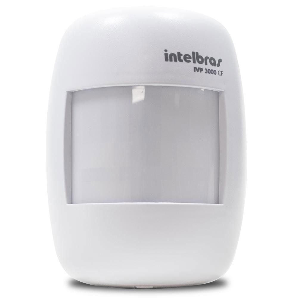 Kit Alarme Monitorado Intelbras Amt 2018eg Sensor Iva Magnetico E Ivp