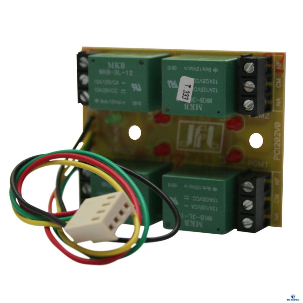 KIT ALARME RESIDENCIAL ACTIVE 32 DUO CONTROLE VIA SMARTPHONE JFL