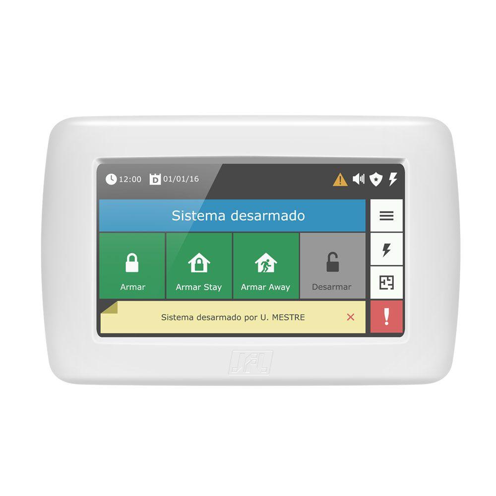 Kit Alarme Residencial Active 32 Duo Jfl Com Teclado Ts 400