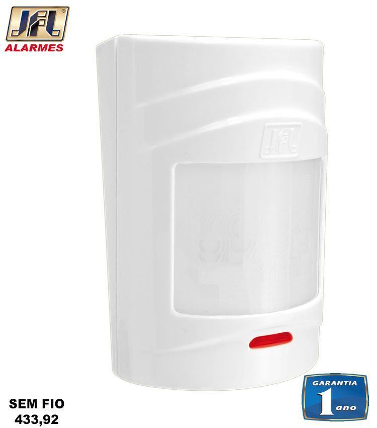 Kit Alarme Residencial Brisa Cell 804 Gsm 4 Sensor S/ Fio Irs 430i Jfl