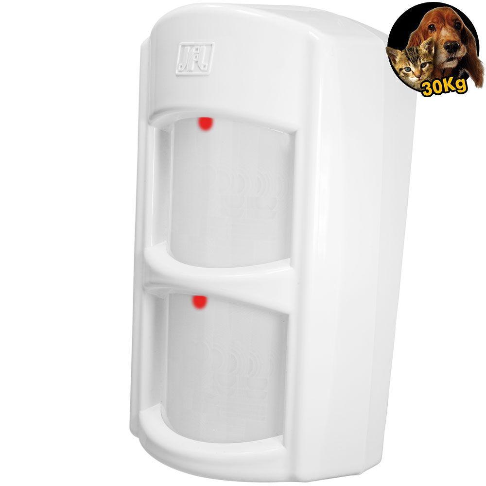 Kit Alarme Residencial Com Discadora Gsm Brisa Cell 804 Com Sensores Ird 640 e Shc Fit