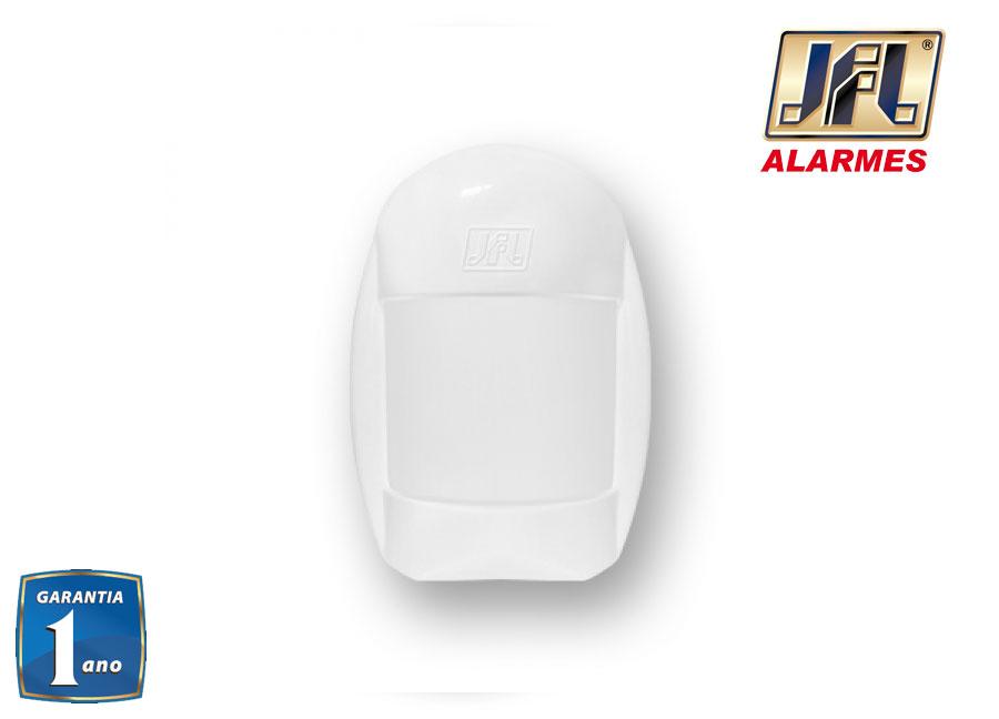 Kit Alarme Residencial Jfl Asd 200 Com Sensores Idx 1001 e Ird 640
