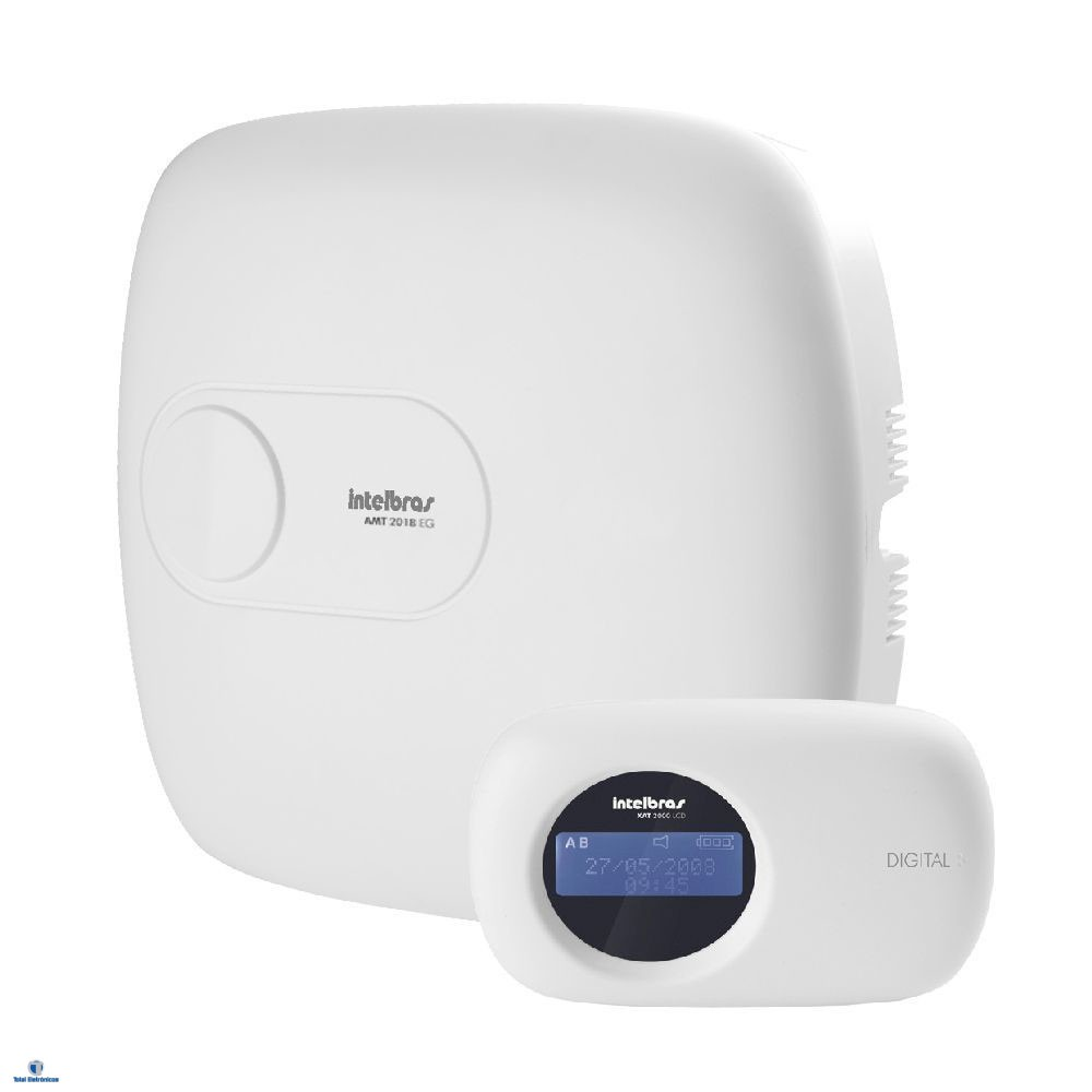 Kit Alarme Residencial Monitorado Intelbras Amt 2018eg