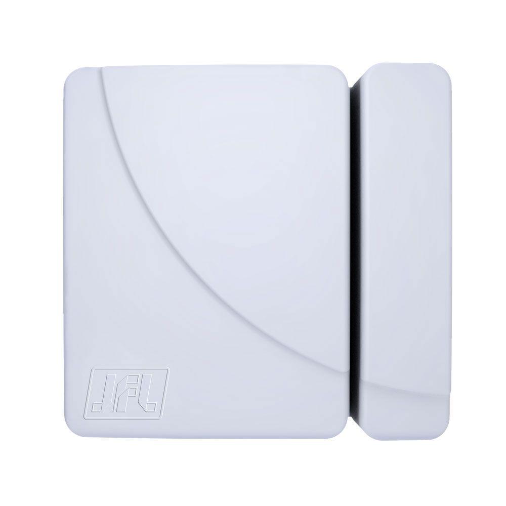 Kit Alarme Residencial Smart Cloud 18 Jfl Com Sensores Sem Fio
