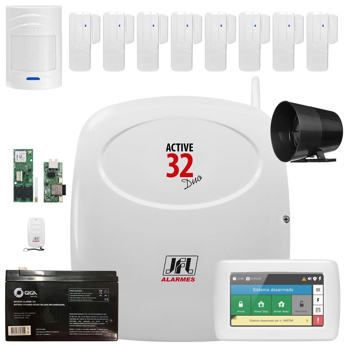 Kit Central Active 32 Duo Com Sensores Sl 220 e IrPet 520 Duo