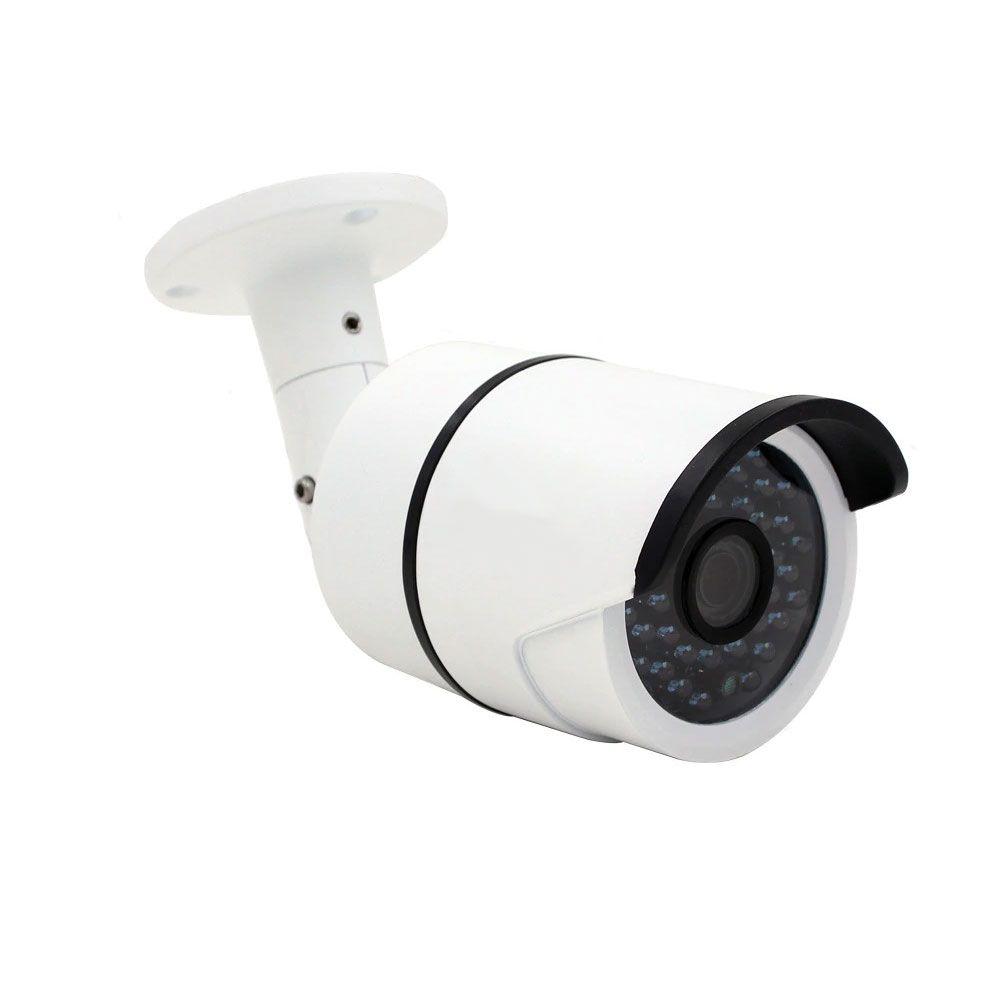 Kit Cftv 6 Cameras Hd Externa Infravermelho 30Mts Dvr 8Ch