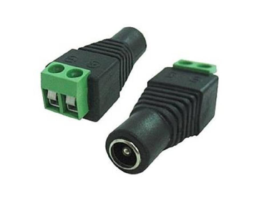 Kit Conectores Cftv 30 Bnc Borne 30 P4 Macho 30 P4 Femea