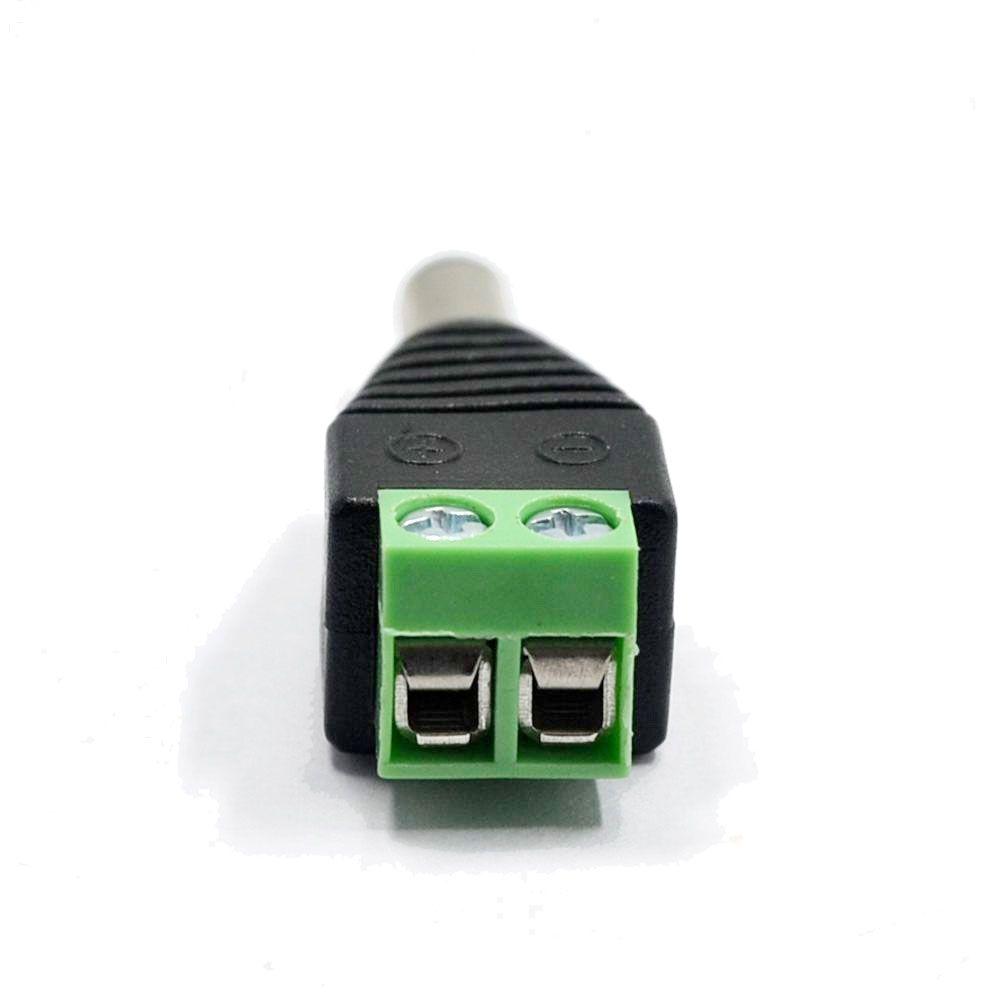 Kit Conectores para 8 Câmeras Bnc e P4