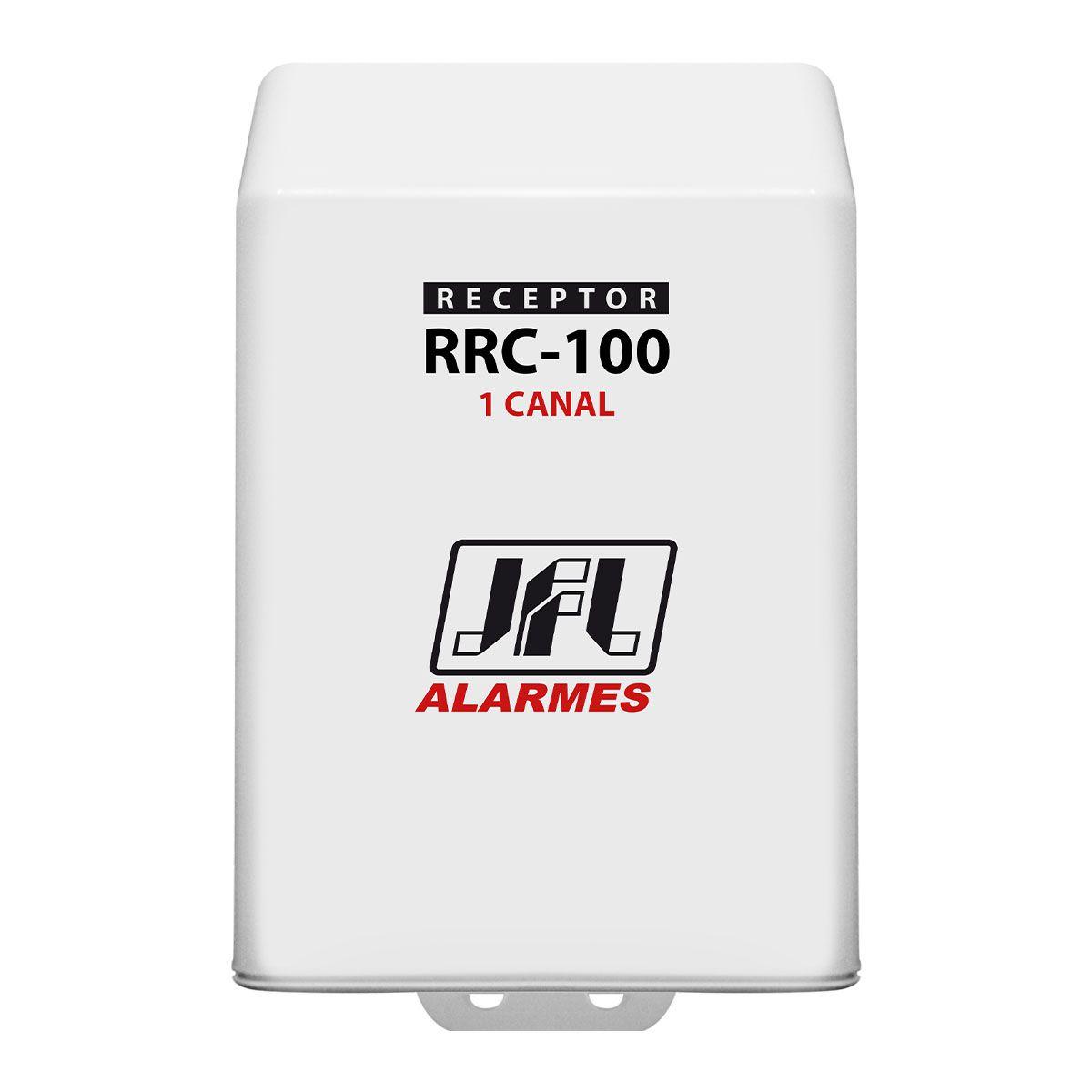 Kit Receptor Programavel 1 Canal Rrc 100 Jfl Com Controle Remoto