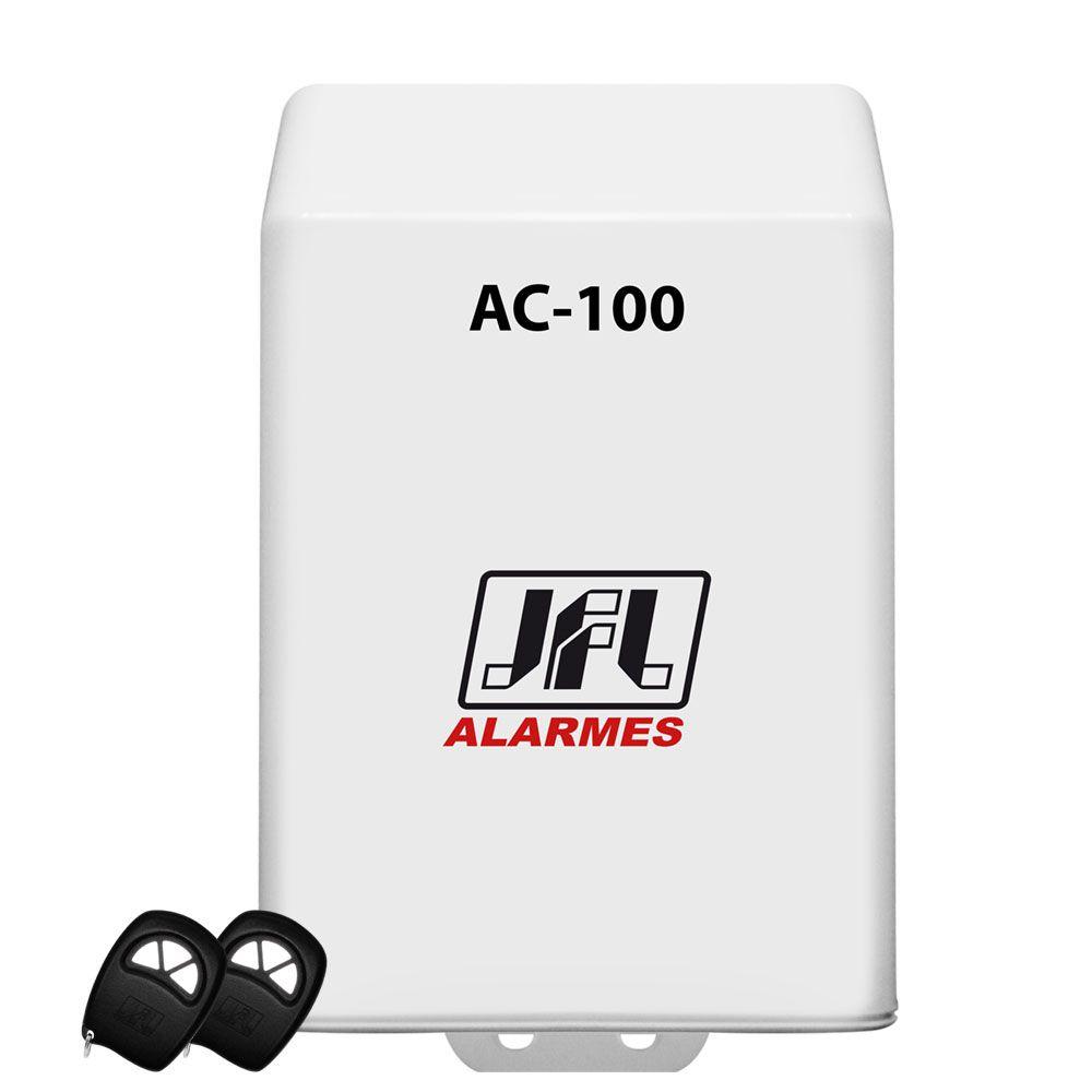Kit Receptor Programavel Ac 100 Com 2 Controle Remoto Jfl