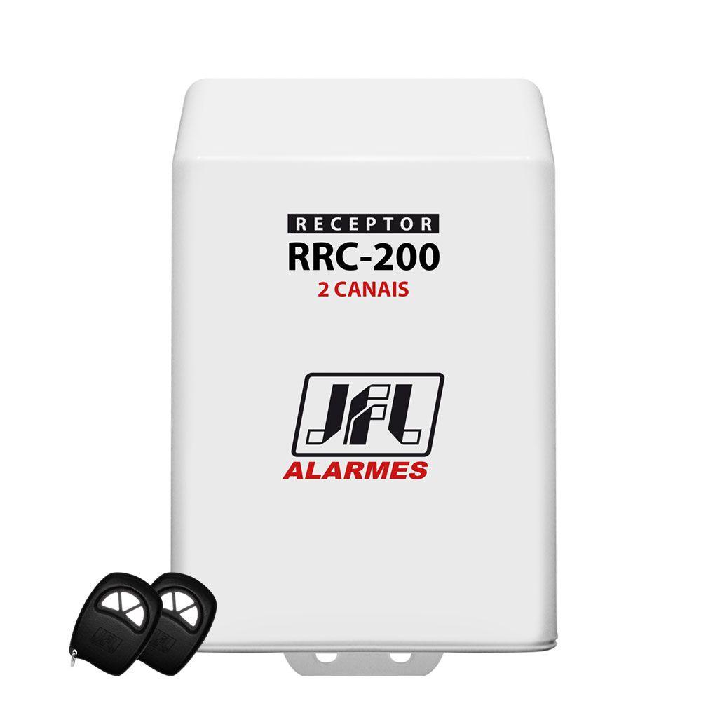 Kit Receptor Rrc 200 2 Canais Jfl Com 2 Controles Remoto