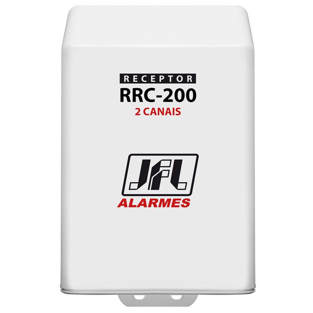 Kit Receptor Rrc 200 Jfl 2 Canais Com Controle Remoto