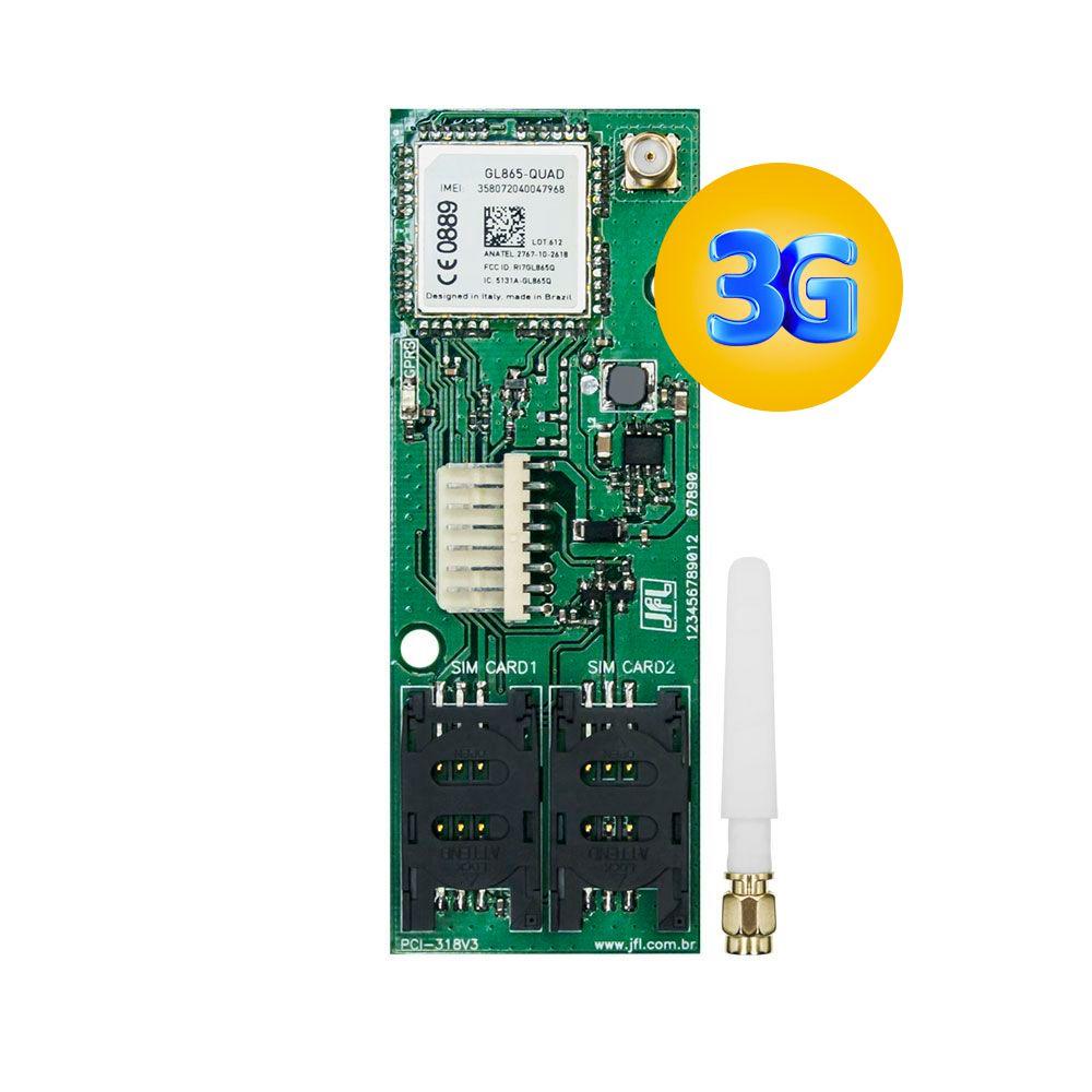 Modulo Gprs Mgp 04 3G Com Anterna Externa Jfl