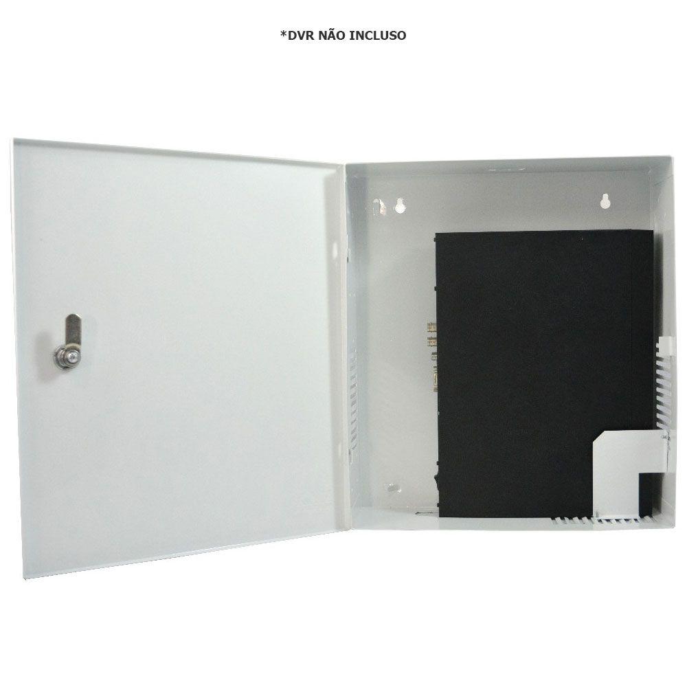Rack Caixa Metalica Vertical Para Dvr Mini Fine