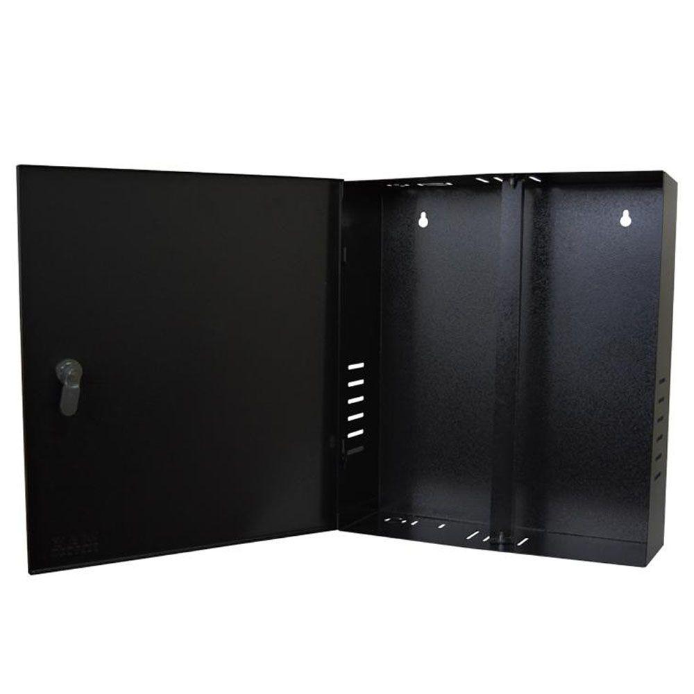 Rack Caixa Metalica Vertical Para Dvr Mini Fine Preto