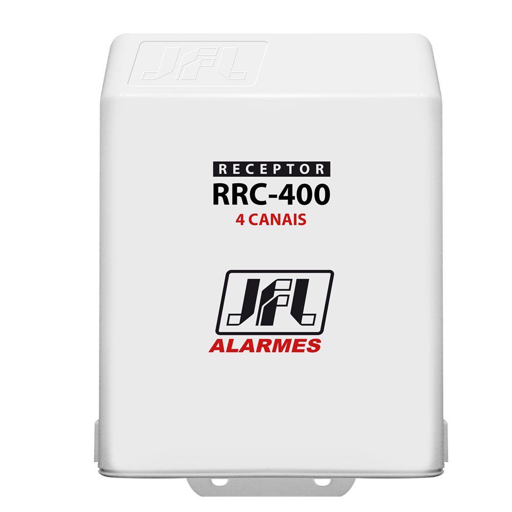 Receptor Multifuncional 4 Canais Rrc 400 Jfl 433mhz