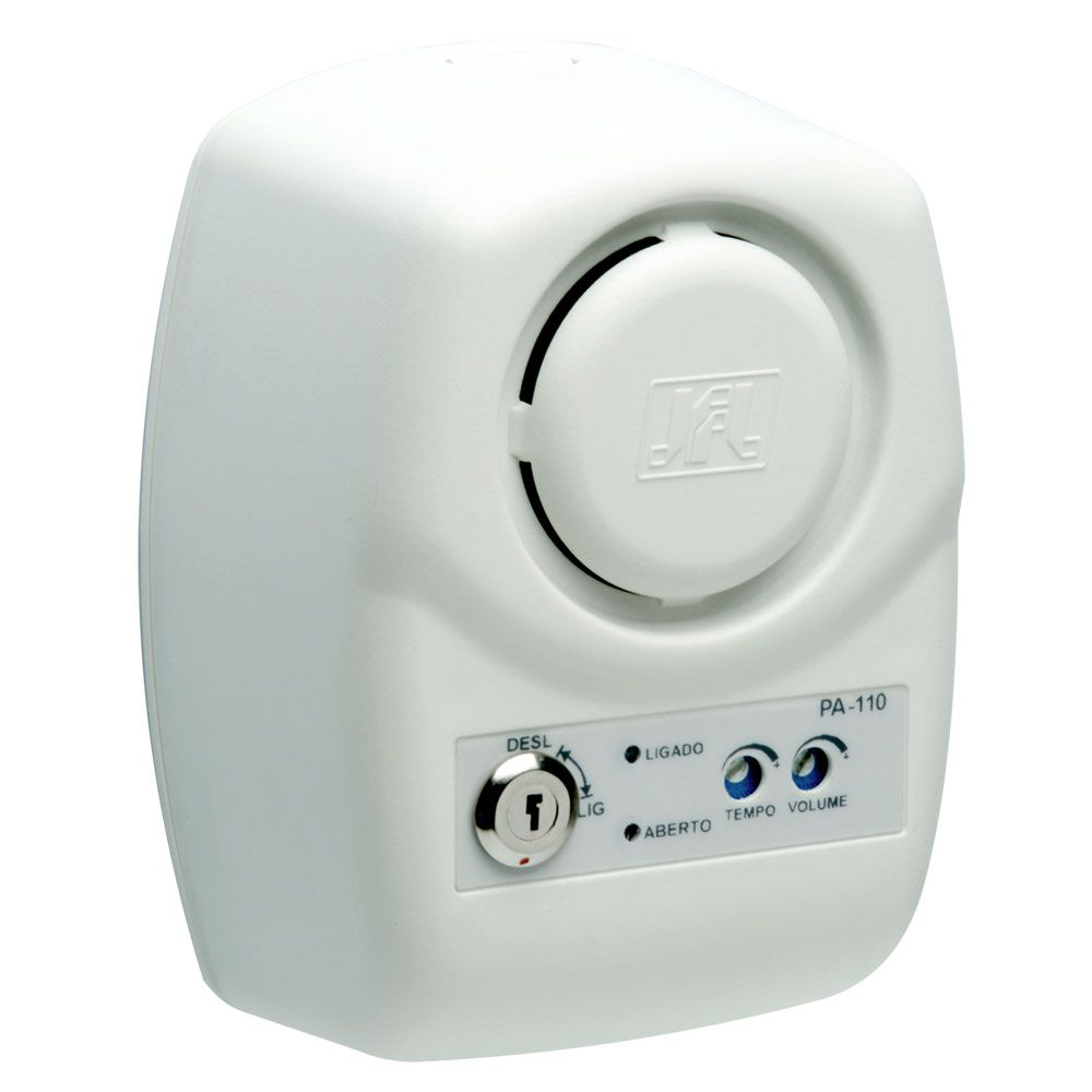 Sensor de Porta Aberta Pa 110 Jfl com Sensor Magnetico