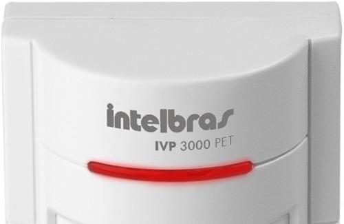 SENSOR INFRAVERMELHO IVP 3000 PET 35KG INTELBRAS