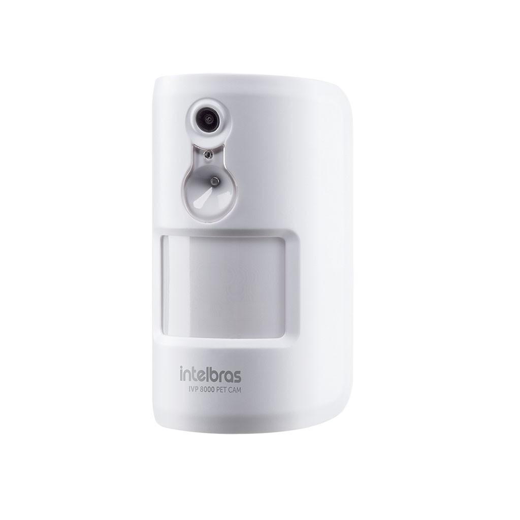 Sensor Infravermelho Sem Fio Com Câmera IVP 8000 PET Cam Intelbras