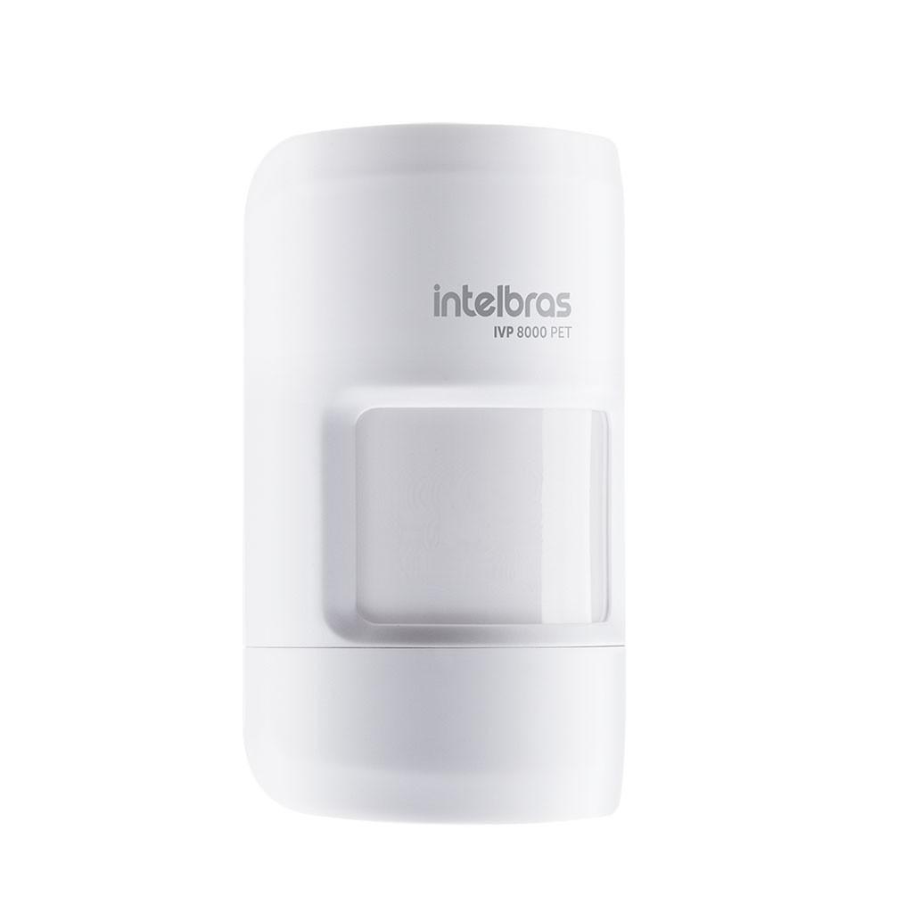 Sensor Infravermelho Sem Fio Com IVP 8000 PET Intelbras