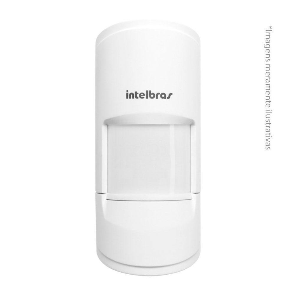 Sensor Infravermelho Sem Fio Ivp 4101 Pet 20kg Smart Intelbras