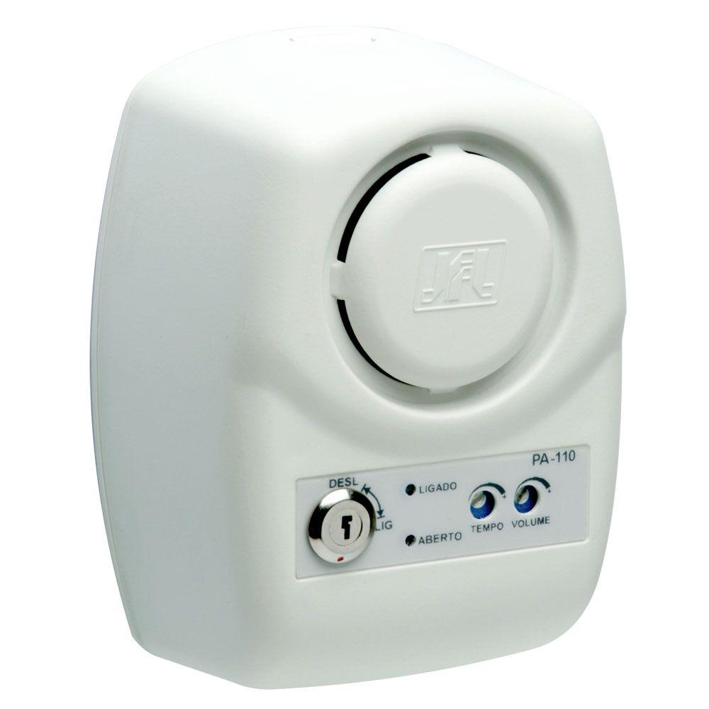 Sensor Porta Aberta Com Acionamento De Portão Pa 110 Jfl
