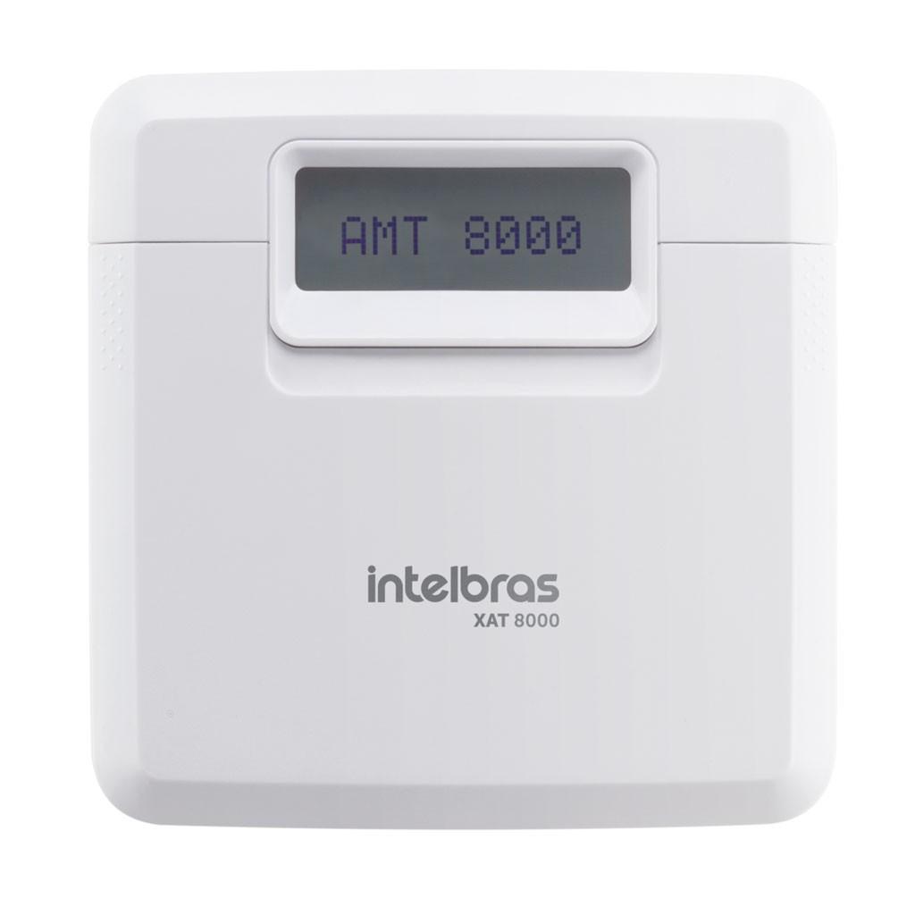 Teclado Sem Fio XAT 8000 Intelbras Para Central de Alarme AMT 8000