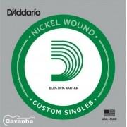 Corda Avulsa Guitarra D'addario Nickel Wound