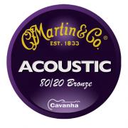 Cordas de violão Martin 80/20 Bronze